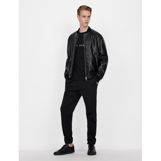 Armani Exchange Ανδρικό Δερματίνη Jacket