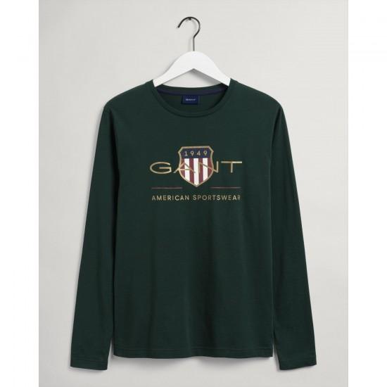 Gant Ανδρικό Μακρυμάνικο Μπλουζάκι