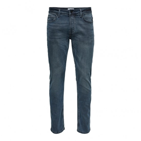 Only & Sons Ανδρικό Γκρι Τζιν Παντελόνι Slim Fit