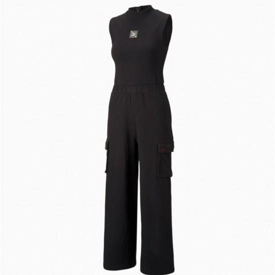 Puma Γυναικεία Ολόσωμη Μαύρη Φόρμα 531936