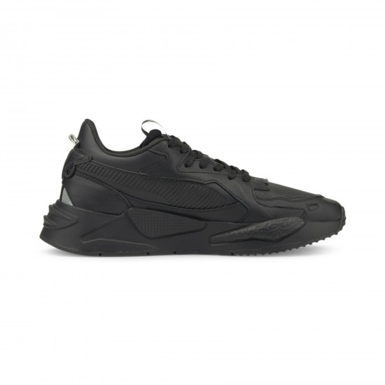 Puma RS-Z LTH Ανδρικά Δερμάτινα Μαύρα Sneakers
