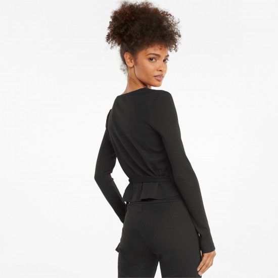 Puma Γυναικεία Μπλούζα Κρουαζέ