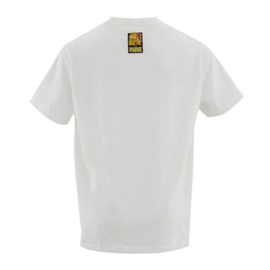 Puma Ανδρικό Λευκό T-shirt
