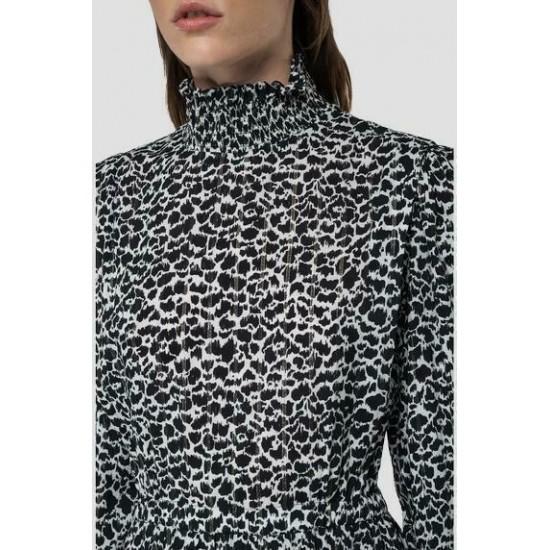 Replay Γυναικείο Φόρεμα Midi W9706.000.73516