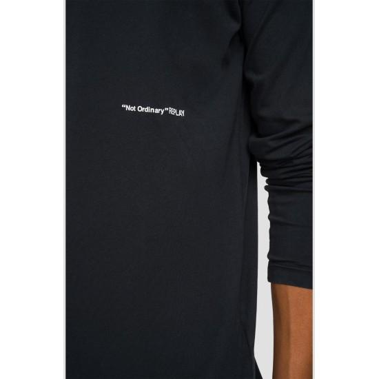 Replay Ανδρική Μακρυμάνικη Μπλούζα