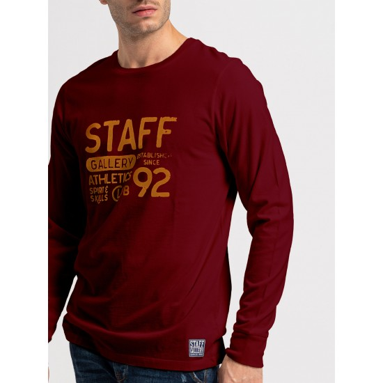 Staff Ανδρική Μακρυμάνικη Μπλούζα