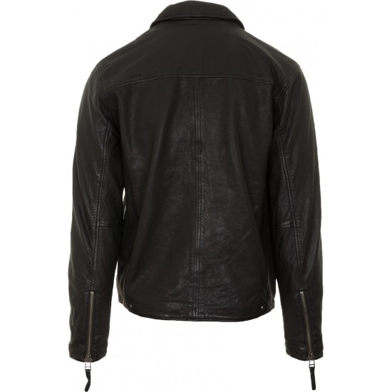GABBA JACKET LEATHER PHIRE CRAN