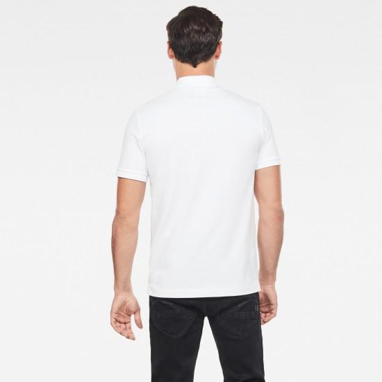 G-Star Ανδρική Κοντομάνικη Polo Μπλούζα Dunda