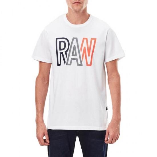G-Star Ανδρική Κοντομάνικη Μπλούζα Raw T-Shirt