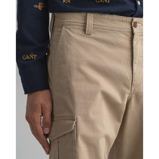 Gant Ανδρική Μονόχρωμη Βερμούδα Cargo