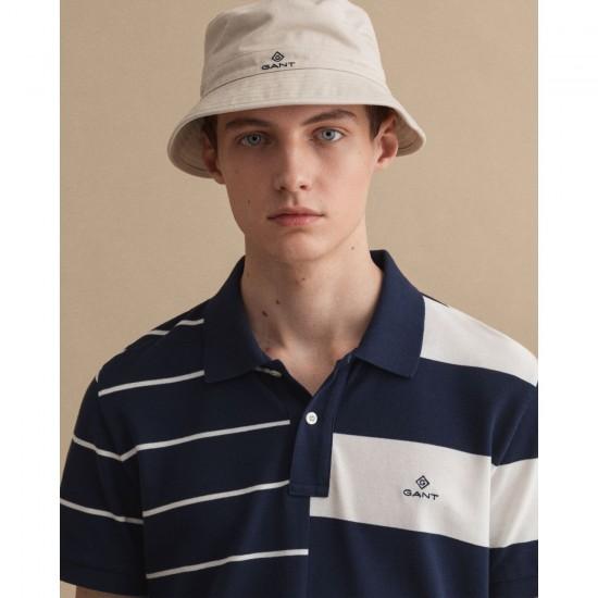 Gant Ανδρικό Πόλο Μπλουζάκι Ριγέ