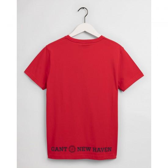 Gant Ανδρική Μπλούζα Τύπωμα