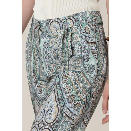 Molly Bracken Γυναικείο Εμπριμέ Παντελόνι