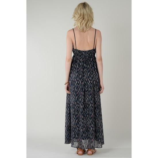 Molly Bracken Γυναικείο Μακρύ Εμπριμέ Φόρεμα