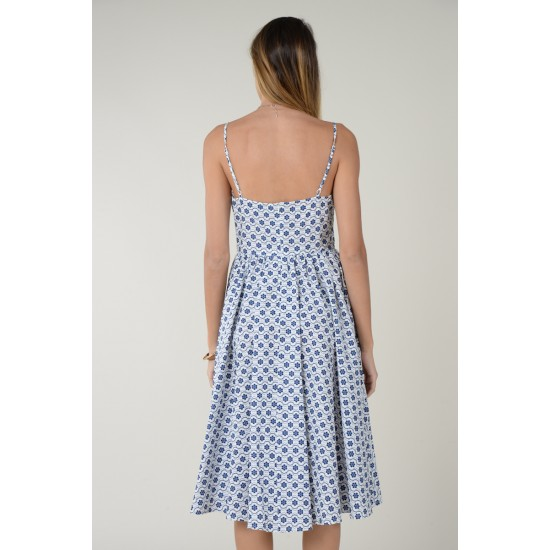 Molly Bracken Γυναικείο Εμπριμέ Φόρεμα