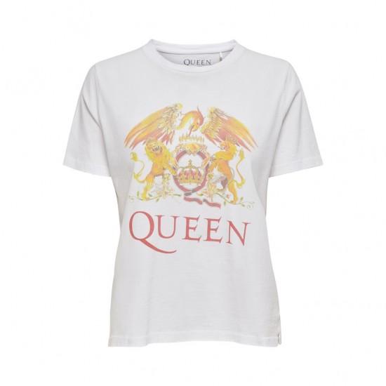 Only Γυναικείο T-Shirt Queen