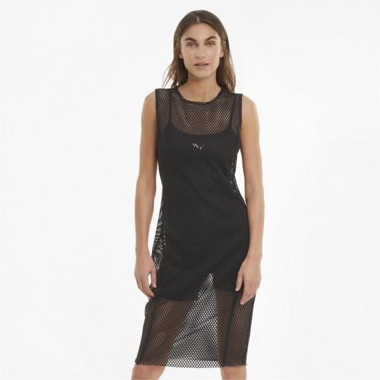 Puma Γυναικείο Φόρεμα Δίχτυ