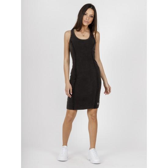Staff Γυναικείο Φόρεμα Μαύρο