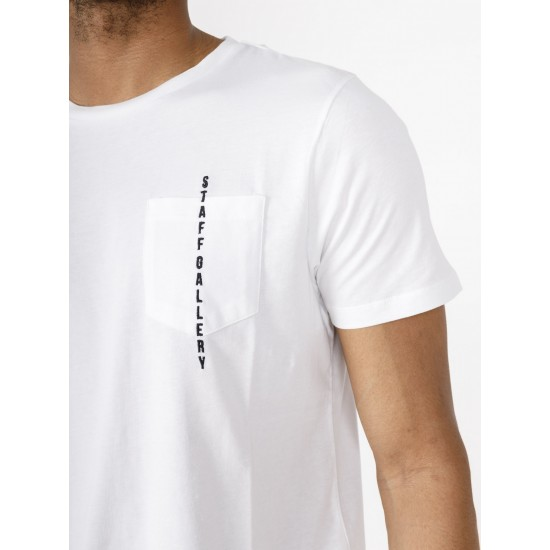 Staff Ανδρικό Κοντομάνικο Μπλουζάκι Τσέπη