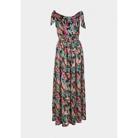 Tiffosi Γυναικείο Φόρεμα Φλοράλ