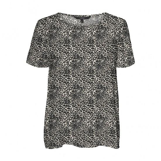 Vero Moda Γυναικεία Animal Print Μπλούζα