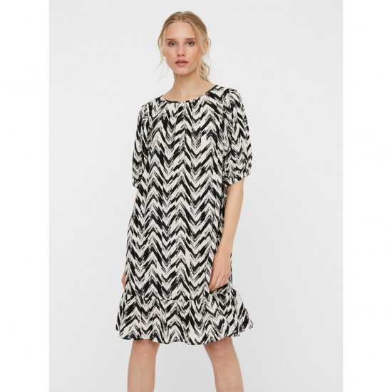 Vero Moda Γυναικείο Mini Φόρεμα με Print
